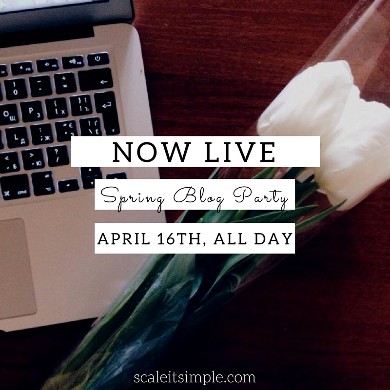 Now Live – Spring Blog Party