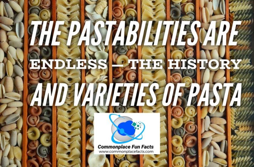 Pasta food cooking varieties
