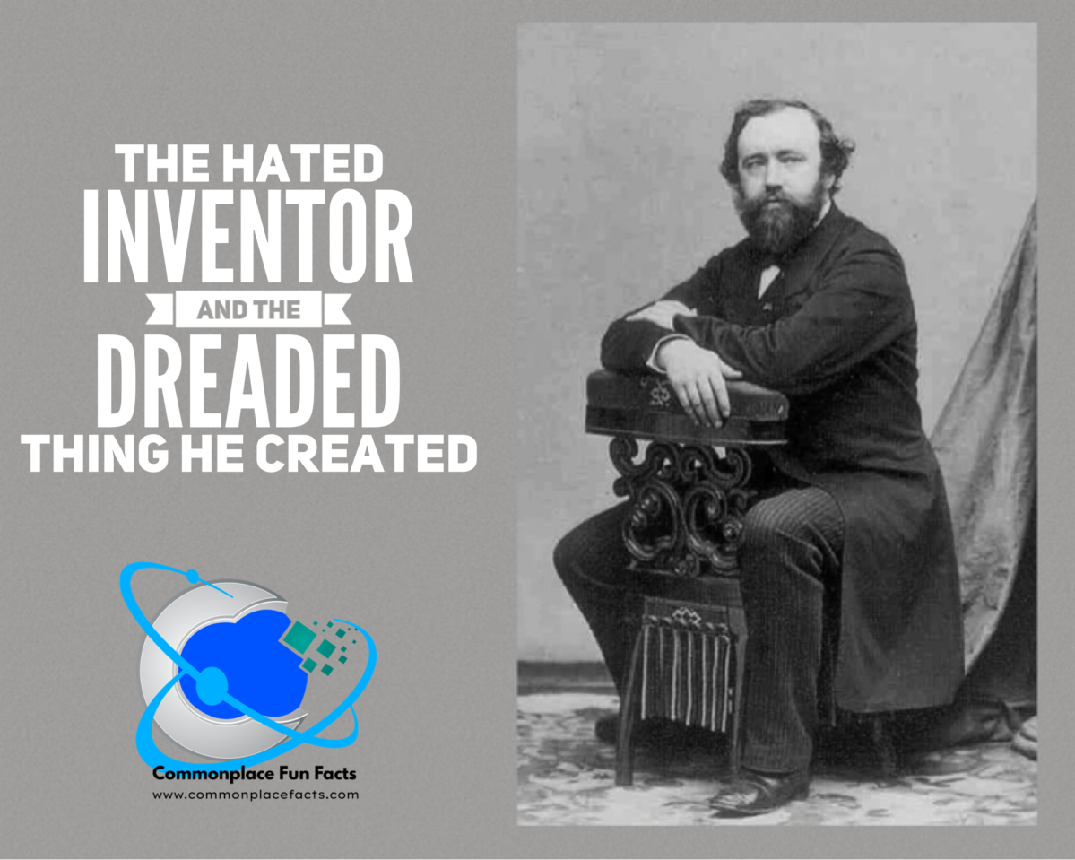 The Hated Inventor and the Dreaded Thing He Created #WordPressWednesday